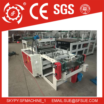 SF-L High Speed 8 Fold Garbage Roll Bag Making Machine