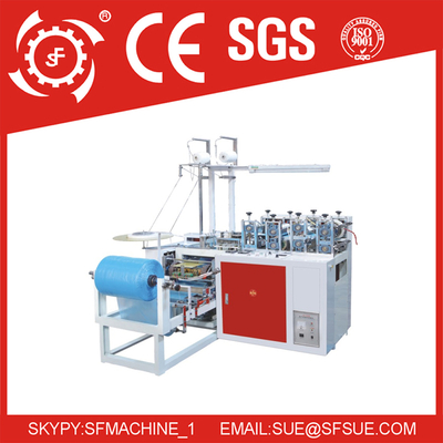 Automatic Disposable Plastic PE-CPE Shoe Cover Making Machine