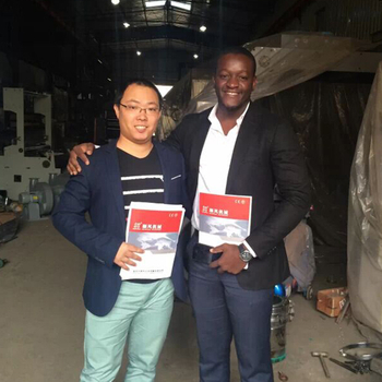 Nigeria customers visit our factory